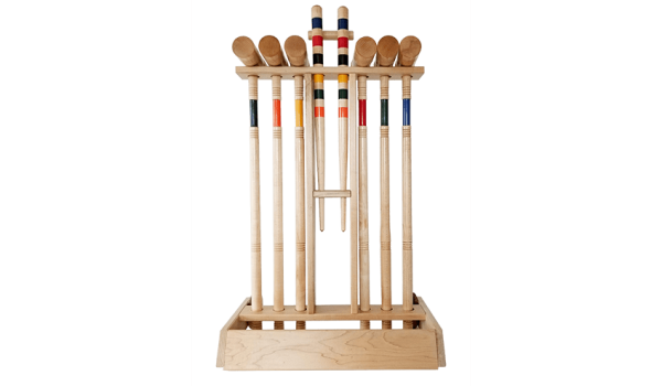 Croquet Lawn Game Components